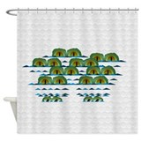 Alligator Shower Curtains