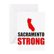Sacramento Strong Greeting Cards