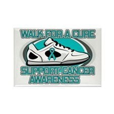 Gynecologic Cancer Walk Rectangle Magnet