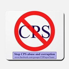 Stop CPS Abuse Mousepad