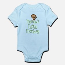 Memaw's Little Monkey Body Suit
