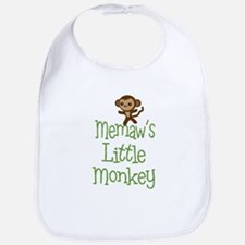 Memaw's Little Monkey Bib