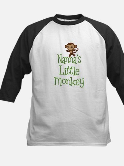 Nanna's Little Monkey Baseball Jersey