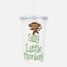 Silly Little Monkey Acrylic Double-wall Tumbler