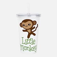 Little Monkey Acrylic Double-wall Tumbler