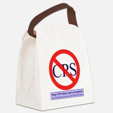Stop CPS Abuse Canvas Lunch Bag