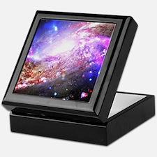 Colorful Cosmos Keepsake Box