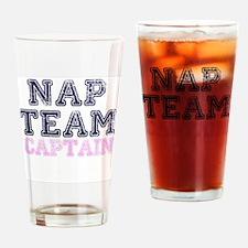 Nap Team Captain Drinking Glass