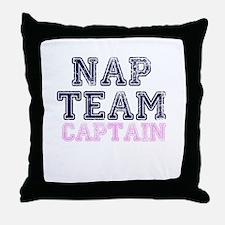 Nap Team Captain Throw Pillow