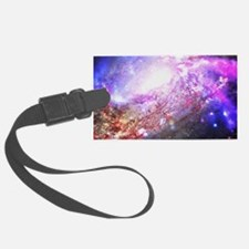 Colorful Cosmos Luggage Tag