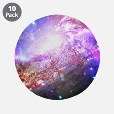 "Colorful Cosmos 3.5"" Button (10 pack)"
