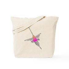 Nazca Lines Hummingbird Tote Bag