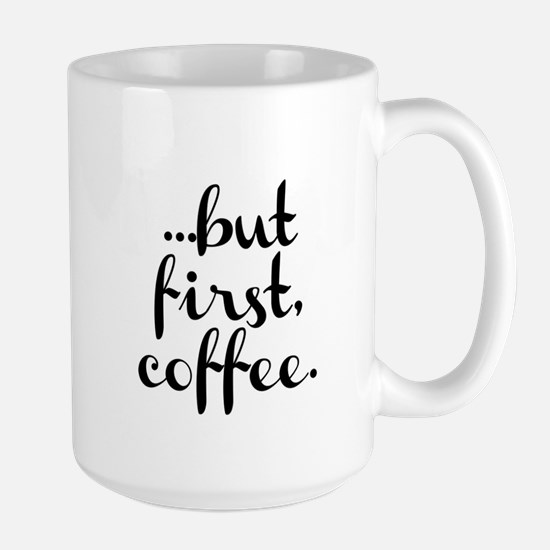 But first, coffee Mugs