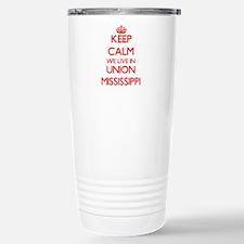 Keep calm we live in Un Travel Mug