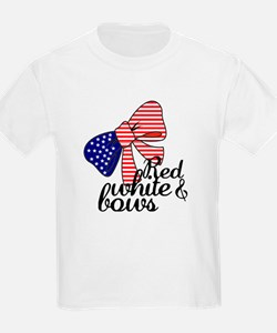 Red White & Bows T-Shirt