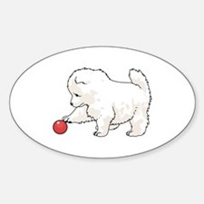 SAMOYED PUPPY Decal