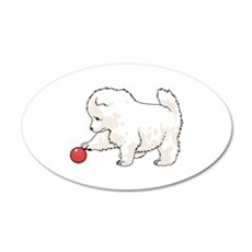 SAMOYED PUPPY Wall Decal