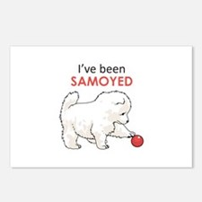 IVE BEEN SAMOYED Postcards (Package of 8)