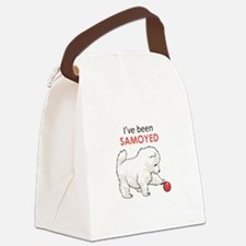 IVE BEEN SAMOYED Canvas Lunch Bag