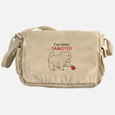 IVE BEEN SAMOYED Messenger Bag