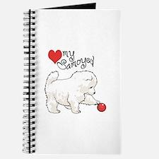 LOVE MY SAMOYED Journal