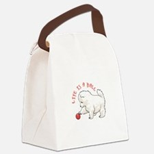 LIFE IS A BALL Canvas Lunch Bag