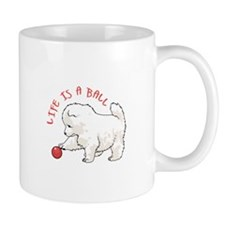 LIFE IS A BALL Mugs