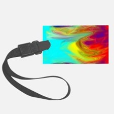 Psychedelic Luggage Tag