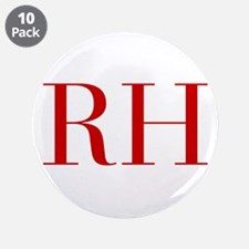 """RH-bod red2 3.5"""" Button (10 pack)"""