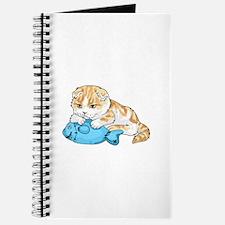 SCOTTISH FOLD CAT Journal