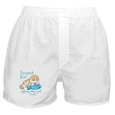 Scottish Fold Cat Boxer Shorts