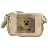 Baby seals Messenger Bags & Laptop Bags