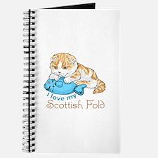 LOVE MY SCOTTISH FOLD Journal