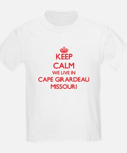 Keep calm we live in Cape Girardeau Missou T-Shirt