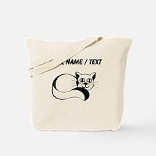 Custom Happy Cat Tote Bag