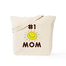 Mom #1 Sunshine Tote Bag