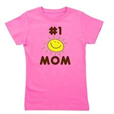 Mom #1 Sunshine Girl's Tee