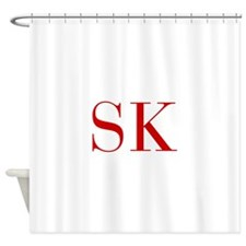SK-bod red2 Shower Curtain