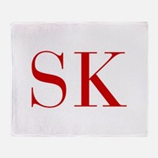 SK-bod red2 Throw Blanket