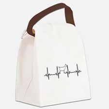 Goat Heartbeat of Love Canvas Lunch Bag