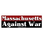 Massachusetts Antiwar Bumper Sticker