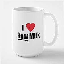 I Heart Raw Milk Mug