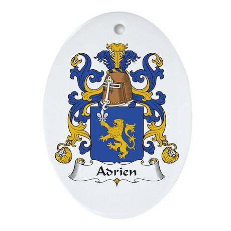 Adrien Oval Ornament