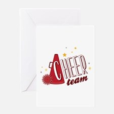 Cheer Team Greeting Cards