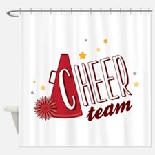 Cheer Team Shower Curtain