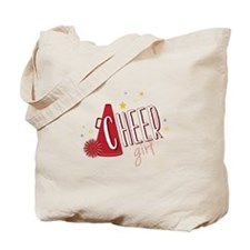 Cheer Girl Tote Bag