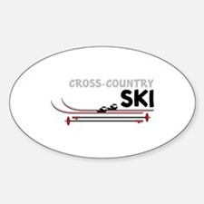 Cross Country Ski Decal