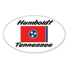 Humboldt Tennessee Oval Decal