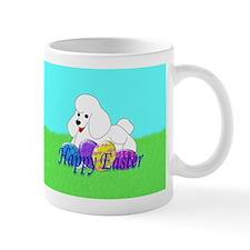 White Poodle Mug