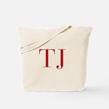 TJ-bod red2 Tote Bag